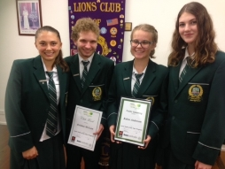 NOOSA DISTRICT STUDENTS SUCCESS AT LIONS YOUTH OF THE YEAR