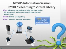 BYOD, Elearning and Virtual Library Information Session