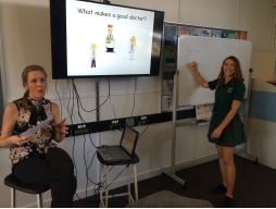 Noosa District State High School Year 11 students learnt about possible future careers